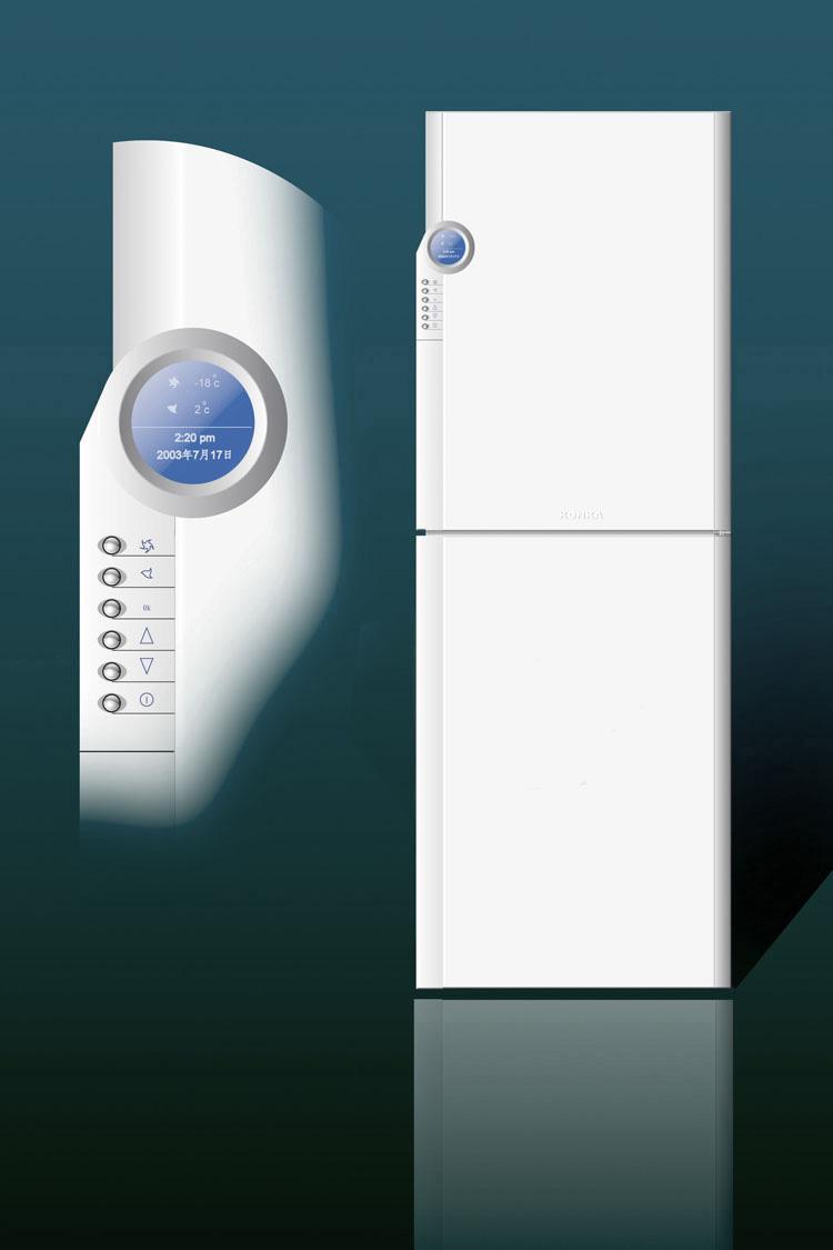 电冰箱设计_深圳市道格产品设计有限公司案例展示图片