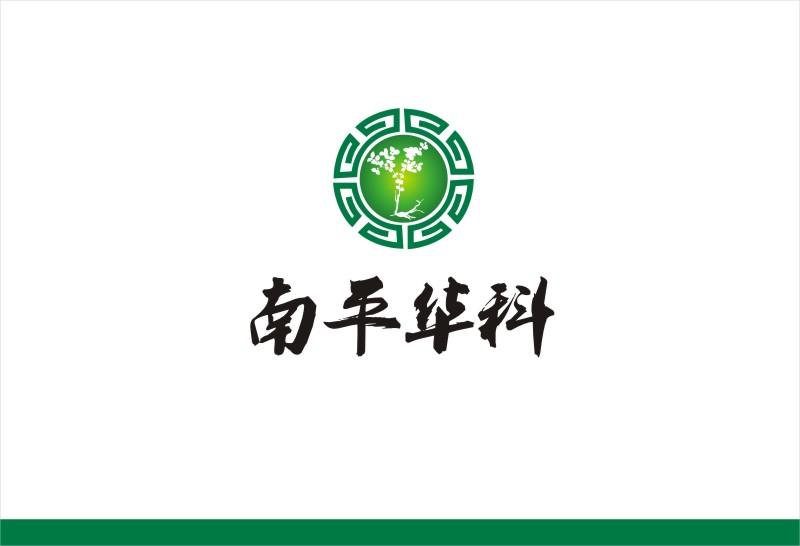 绣花针中草药产品logo设计