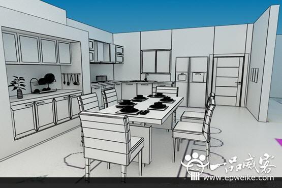 室内装修效果图制作技术选择 3D室内装修效果图制作准备工作