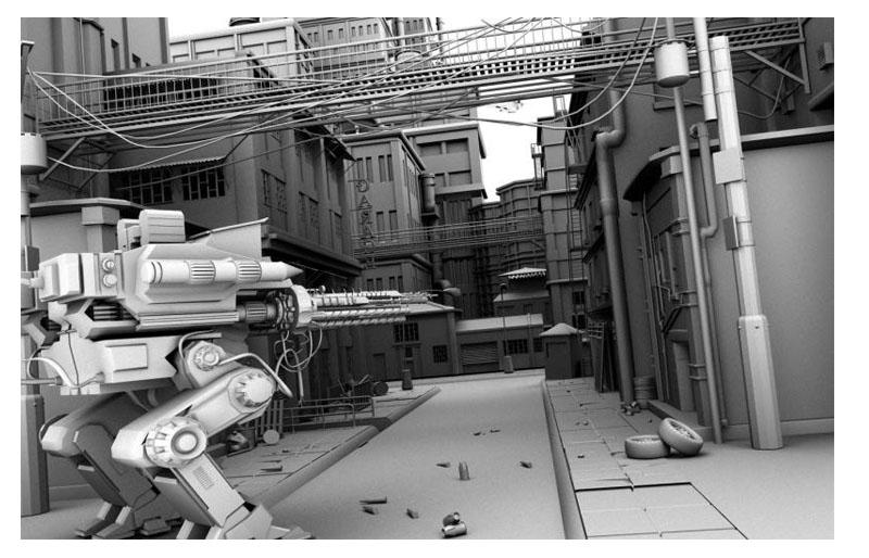 maya , 3d max 场景,道具模型制作