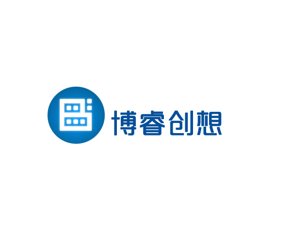 """""""博睿创想""""公司logo设计"""