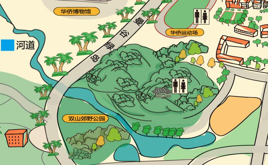 常山手绘地图_杭州米狸文化创意有限公司案例展示