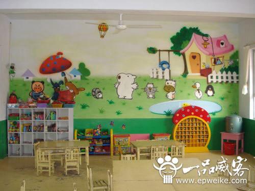 幼儿园手绘墙设计基础知识 幼儿园手绘墙设计制作