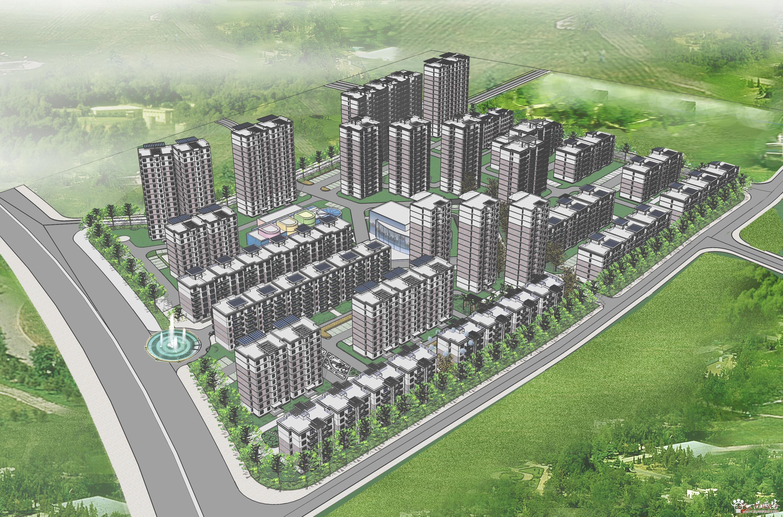 如何进行居住小区规划设计 (3000x1980)-景观设计su模型