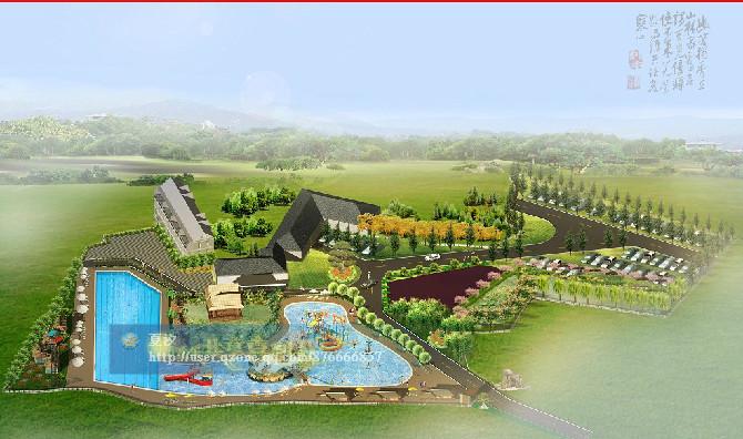 【园林设计&庭院景观设计&别墅&广场&农家乐&产业园&工厂绿化&道路