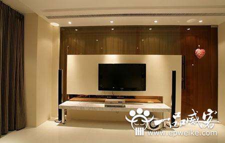 电视机主题背景墙设计制作