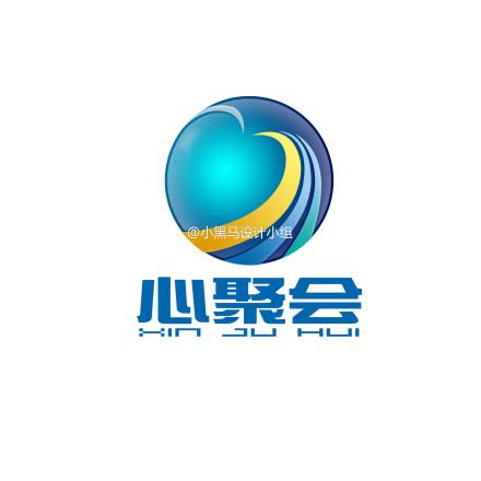 武汉心聚会有限责任公司logo设计