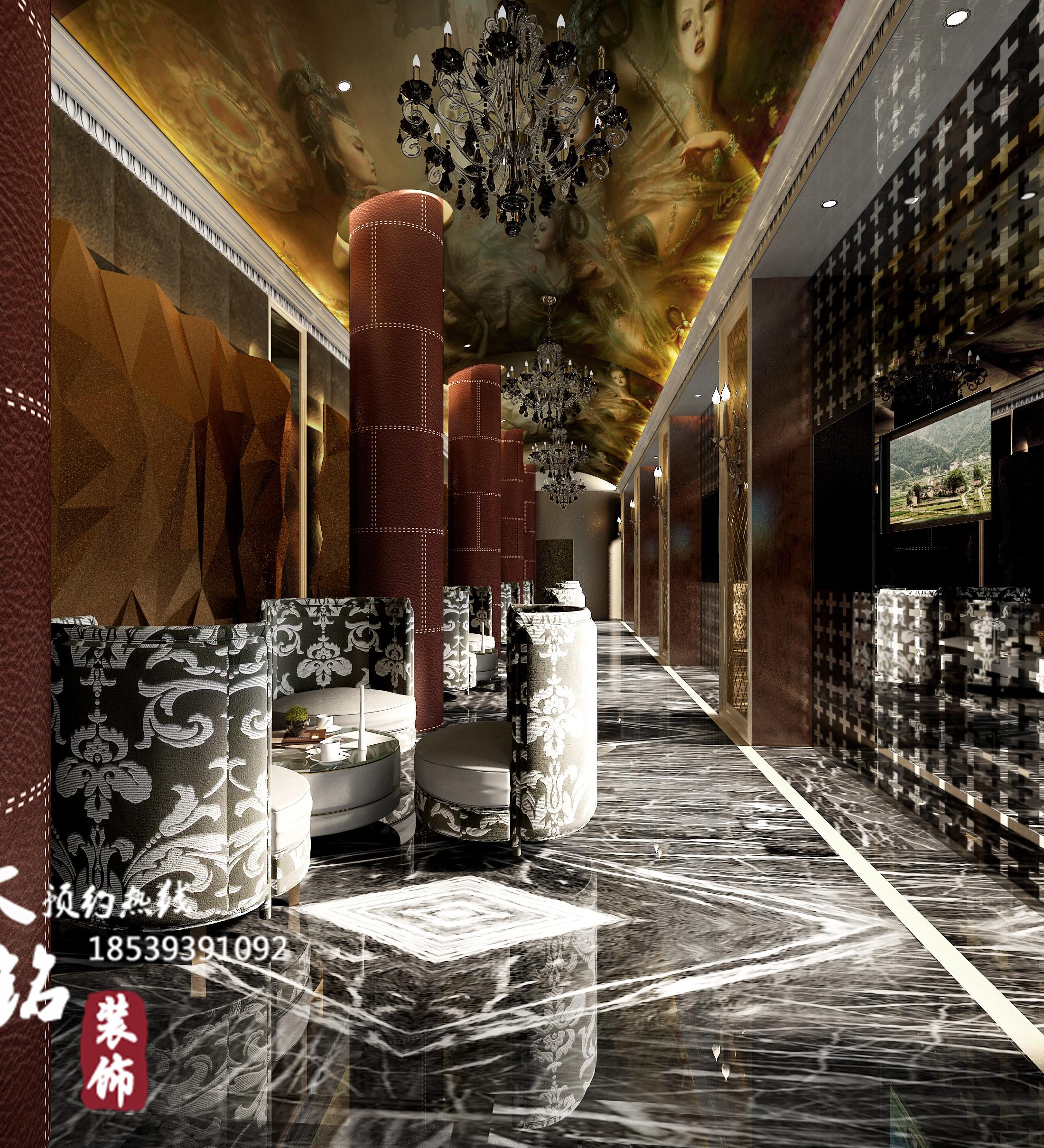 酒店大堂设计 酒店餐厅设计 酒店装饰设计 酒店软装设计 欧式酒店设计