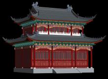 古代房屋模型