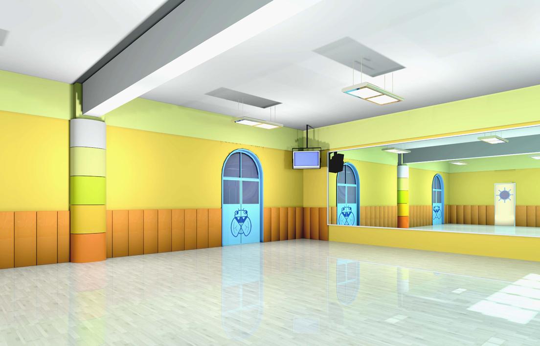 小型舞蹈室内装修图片