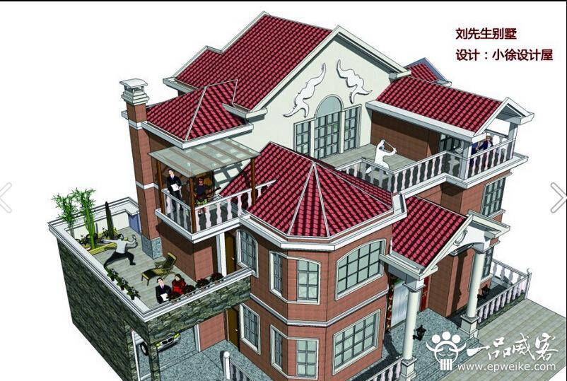楼房三维结构图