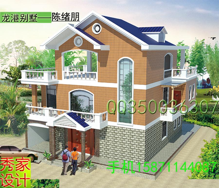 自建房屋建筑图乡村住宅别墅cad图纸全套设计施工