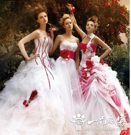 体型微胖的新娘不用担心 教你选择适合你的漂亮婚纱