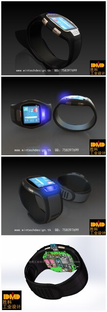 多功能健康监护腕表