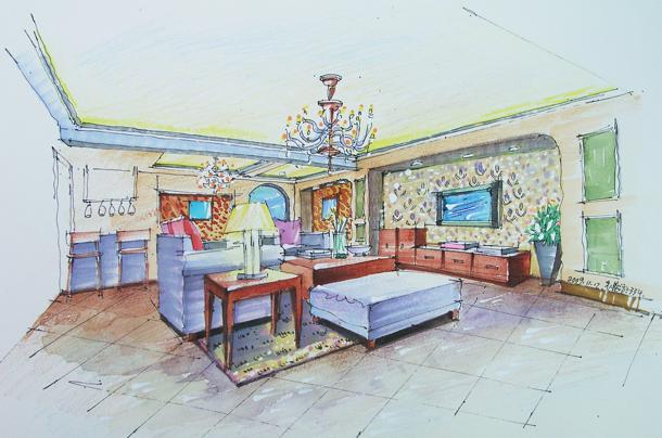 所属分类:手绘设计/室内手绘   上一个案例: 下一个案例:  >