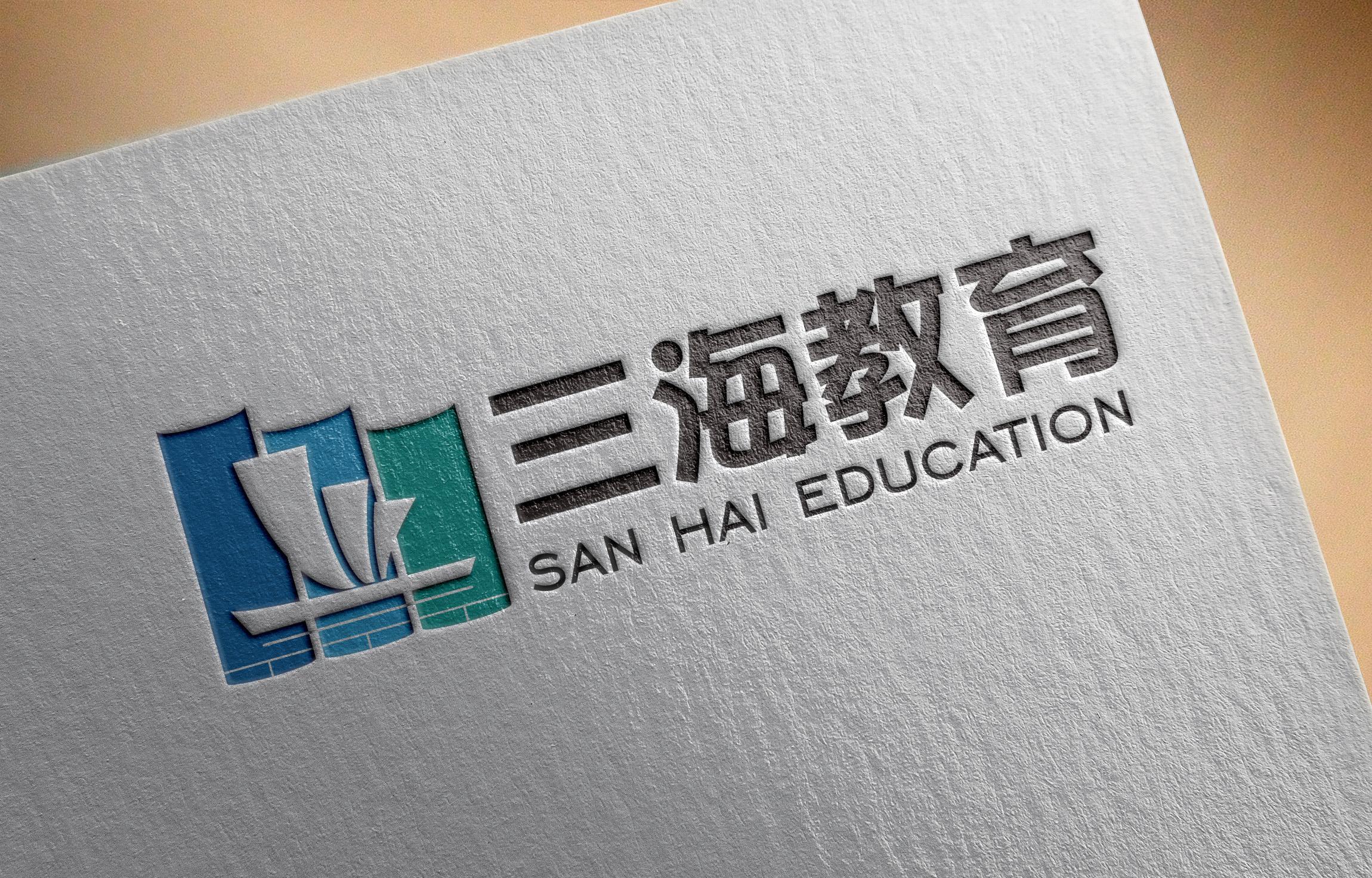 教育公司logo设计_云想创意