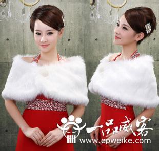 冬季结婚攻略 冬季婚纱礼服该这么穿