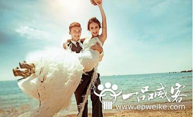 海边取景的婚纱照该如何拍  海景婚纱摄影该注意什么