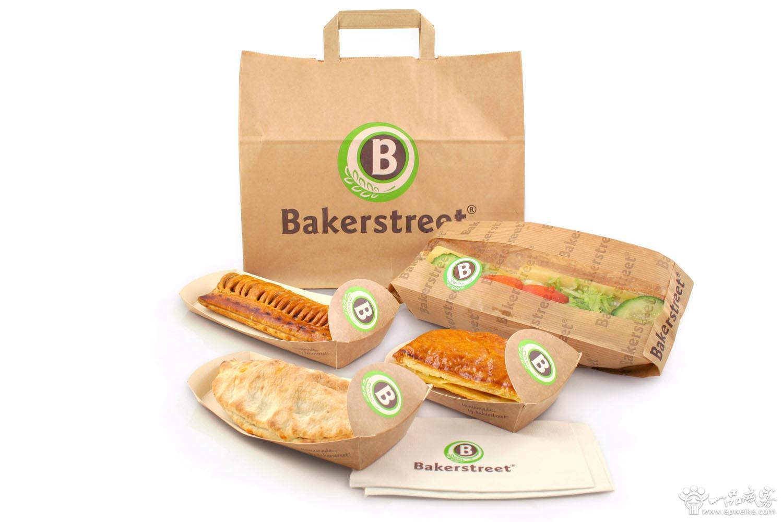 面包纸质包装设计方案 面包包装设计材料选择
