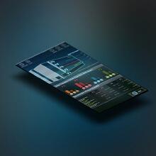 某公司电能质量管理软件界面设计