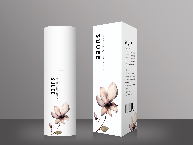 化妆品包装设计(瓶子&包装纸盒)