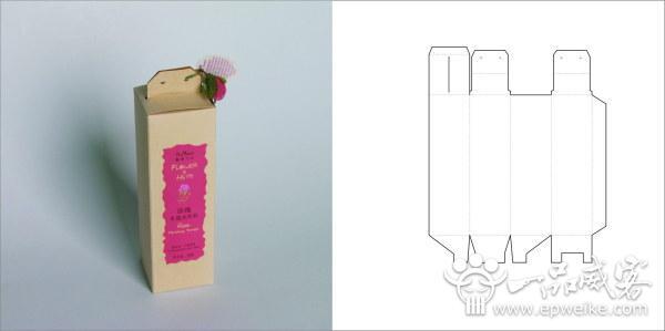包装设计欣赏_包装设计展开图模板素材
