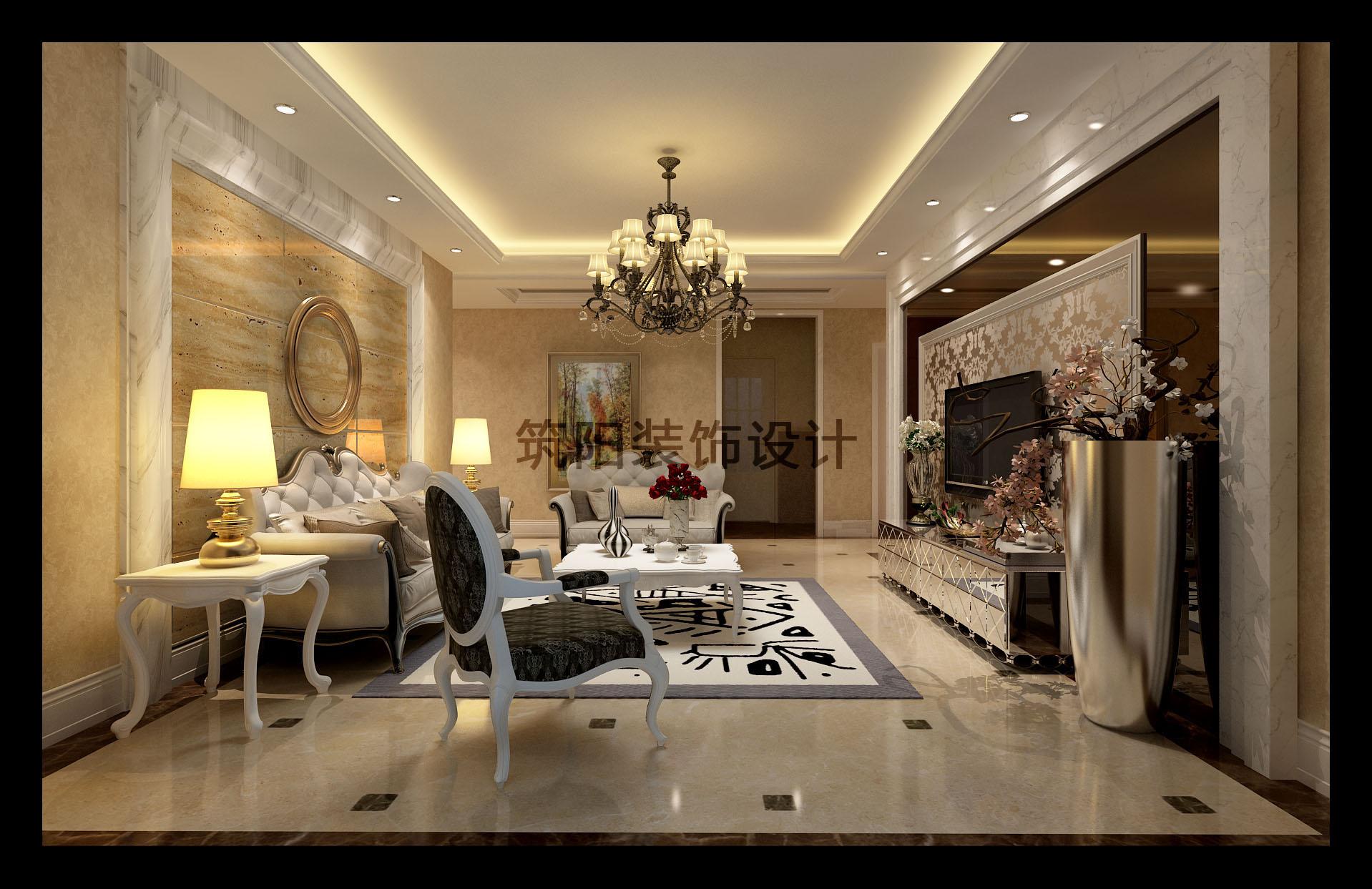 欧式家装_筑阳装饰设计工作室