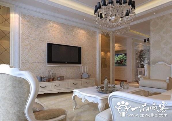 室内电视背景墙设计装修装饰方法