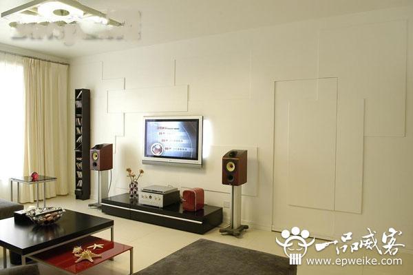 创意客厅电视背景墙设计颜色搭配