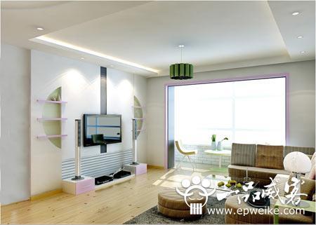 客厅电视背景墙设计装修风水_新房电视机背景墙装修风水咨询