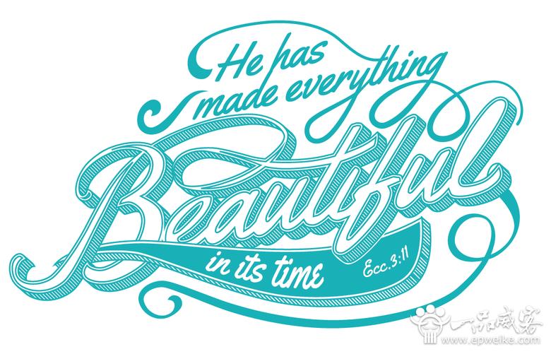 全球最佳商业英文字体设计大全