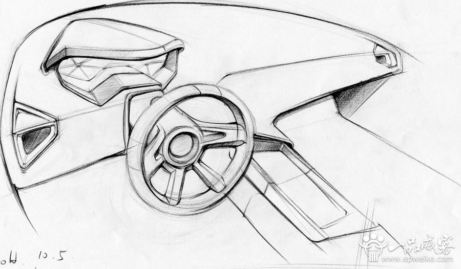 产品工业设计手绘重点