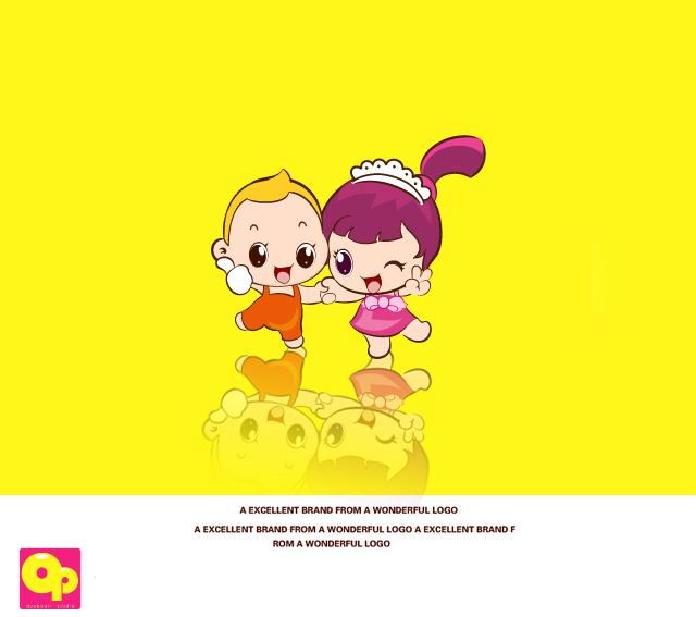 超萌可爱卡通人物设计_卡通形象设计_动漫设计_一品网