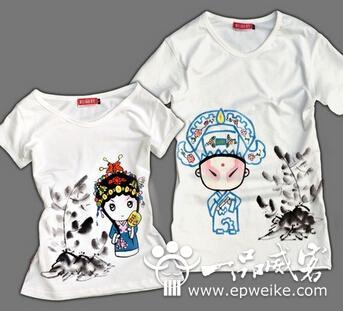 简单制作手绘t恤创意图案 手绘t恤图案你也可以做到图片