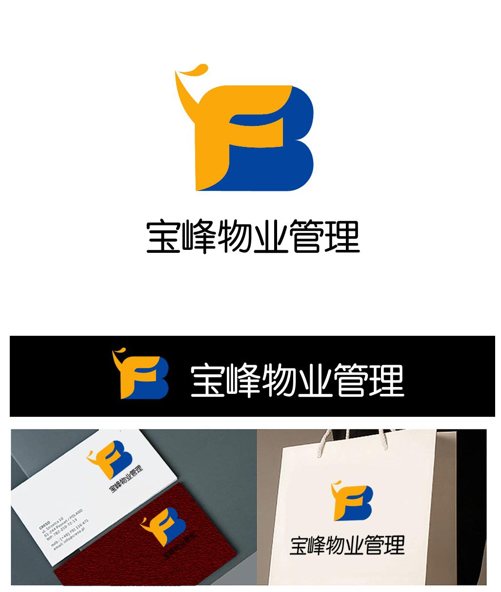 物业管理公司logo设计图片