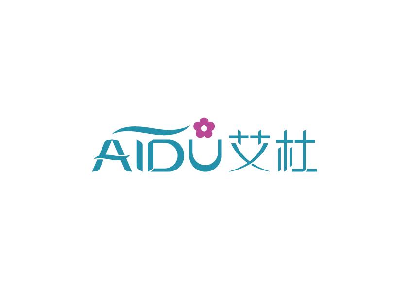 aidu美妆店铺logo及名片设计
