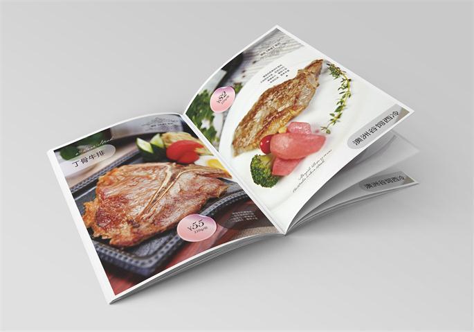 福建盛世经典牛排馆菜单设计