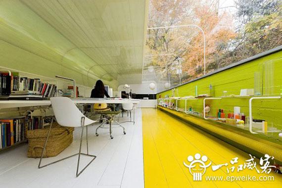 创意办公空间设计理念机器要素意义