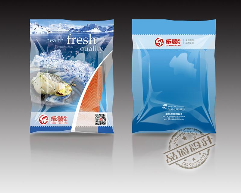 进口生鲜食材包装袋的设计