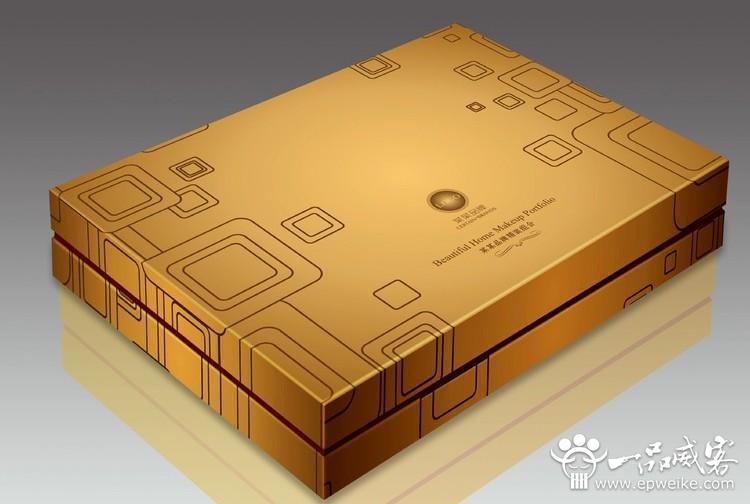 礼品盒包装设计制作的工艺流程图片
