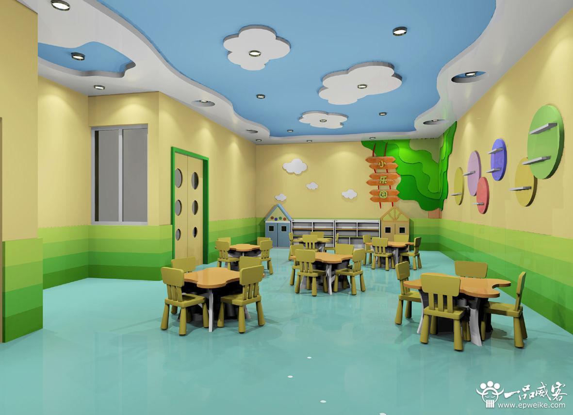 幼儿园手绘墙设计