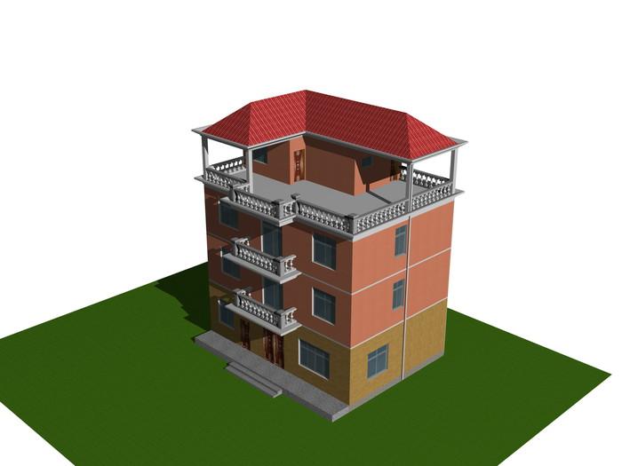 自建房效果图和结构施工图设计
