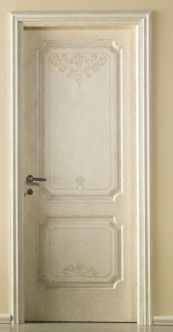 手绘木门图案设计