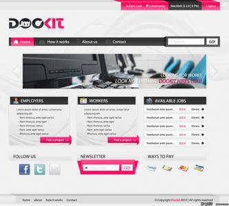 网页设计制作过程_整站网页设计专栏