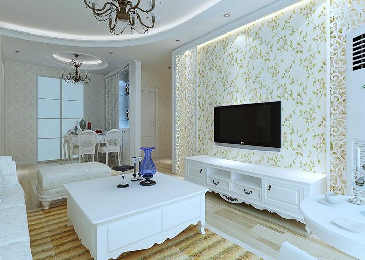 背景墙设计一要简洁,太复杂的设计容易让客厅显得狭小,当然欧式风格的