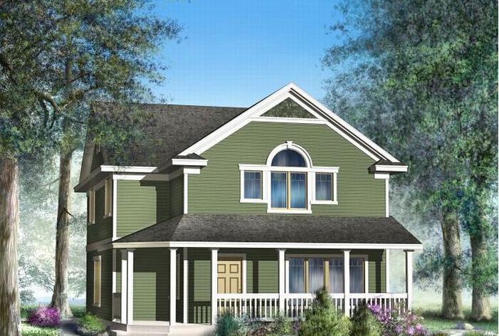 农村二层小别墅设计图片