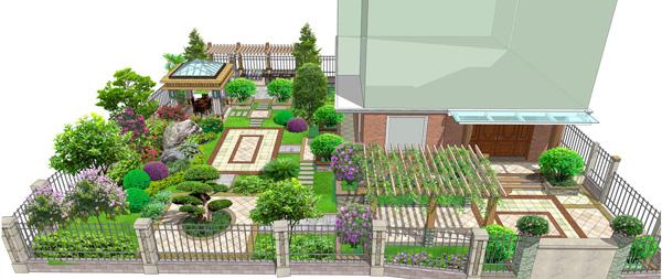 庭院私家景观设计亿图电路图绘制破解版图片