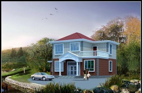 农村二层小别墅设计