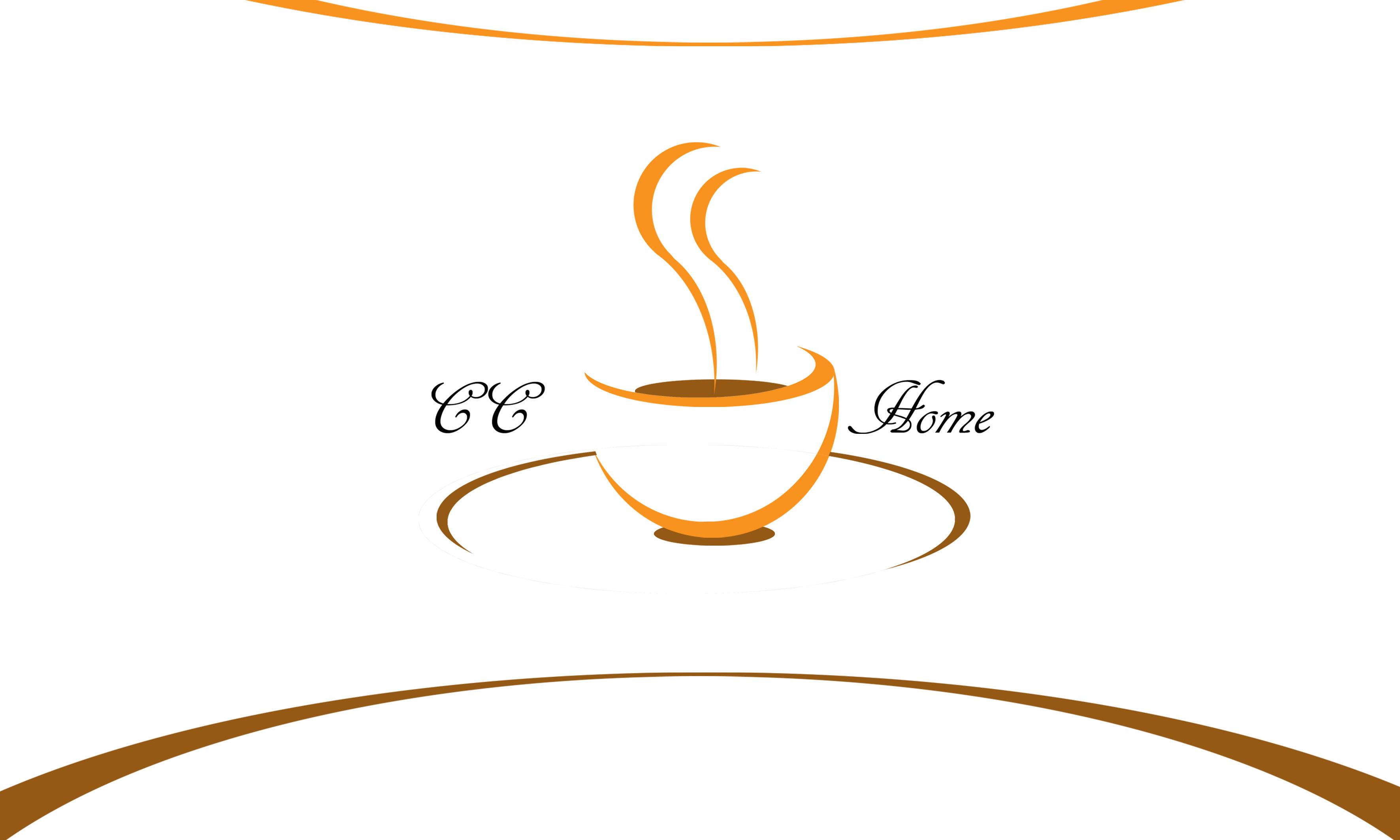 """cc家""西点面包咖啡店logo及vi设计"