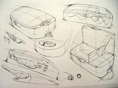 产品工业设计手绘速写基础知识